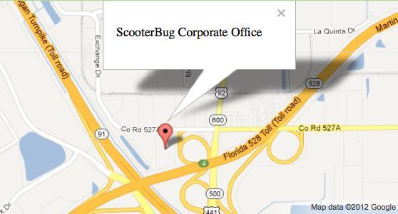 Map Location 2126 W. Landstreet Road